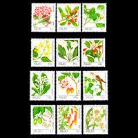 Palau 1987 - Flowers Plants - Sc 126/42 MNH