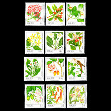 Palau 1987 - Flowers Plants - Sc 126/42 MNH