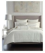 """NEW! Hotel Collection Plume Full/Queen Duvet Cover. Ivory, Beautiful 94""""x96"""""""