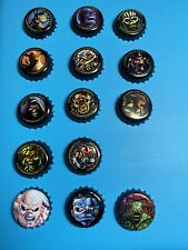 More details for iron maiden trooper beer legacy of the beast bottle top cap set and extras