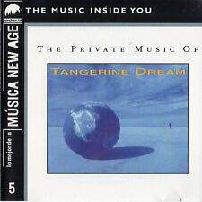 "TANGERINE DREAM ""THE PRIVATE MUSIC OF TD"" ULTRA RARE SPANISH CD / MUSICA NEW AGE"
