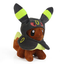 Pokemon Center Eevee Poncho Umbreon Blacky Costume Figure Plush Doll Xmas Gift