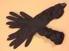 Vintage 1940's Black sheered Gloves