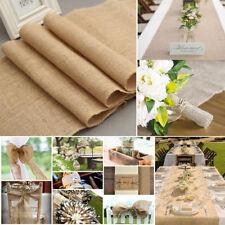 Juteband Tischläufer Tischband Rolle aus Jute Natur 30cm breit 10m lang Hochzeit