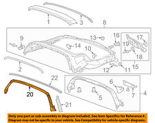 Chevrolet GM OEM 14-18 Corvette Roof-Weatherstrip Seal 84007386