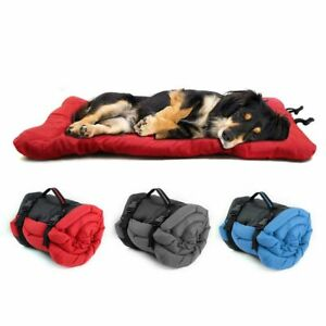 Dog Bed Blanket Waterproof Couch Pet Bedding Sleeping Cushion Foldable Portable