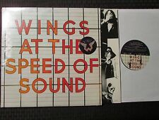 1976 Wings At The Speed Of Sound LP VG+/VG+ Shrink Capitol Records – SW-11525