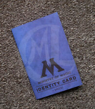 Harry Potter Personalized Ministry of Magic Id card prop replica