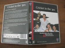 Cricket In The 80's - Rookies, Rebels And Renaissance (DVD, 2004) Reg. 4 DVD VGC