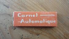 ANCIEN PAQUET DE FEUILLES A CIGARETTES ROLLING PAPER CARNET AUTOMATIQUE PCL