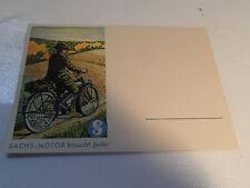 alte Karte Postkarte Fichtel & Sachs 98 ccm 98er  Nr. 2 .