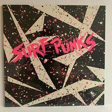 "Sealed SURF PUNKS self titled 12"" Vinyl LP NOS Insert DAY-GLO Private Press 1979"