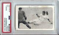 Jackie Robinson 1947 Bond Bread Baseball Card Sliding Graded PSA 2.5 Good+ #NNO
