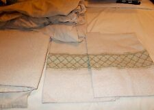 Vintage Springs Double Sheet Set Geometric Design Matches Comforter listed