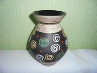 W German pottery mid century  vase