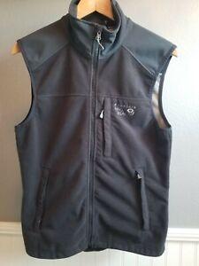 Men's Mountain Hardwear Windstopper Tech Fleece Vest, Small - Black
