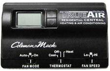 Coleman 6636-3452 Digital Wall Thermostat Black Digital Heat/Cool