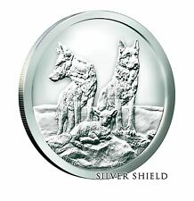 1 OZ Silver Shield AWARE AND PREPARED Limited FAST SHIPPING .999 SBSS
