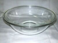Vintage Pyrex #323 Clear Glass With Flat Rim 1.5Qt Mixing Nesting Rd Bowl ~USA