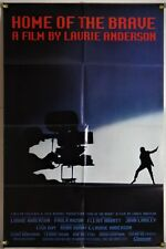 HOME OF THE BRAVE FF ORIG 1SH MOVIE POSTER LAURIE ANDERSON MUSICAL (1986)