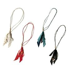 * Kapital Capital Frenchclothlinen Fringe Necklace 4 Colors From Japan New