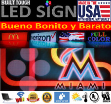 Outdoor Graphic Sign Programmable Digital Display Led Signs Full Color near me