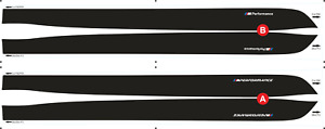 BMW M Performance Side Stripes decals Set for M3 F80