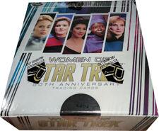 Women of Star Trek 50th Anniversary Factory Sealed Trading Card Box