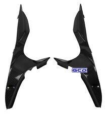 Ducati 848 1098 Upper Air Ram Dash Intake Cover Panel Fairings 100% Carbon Fiber