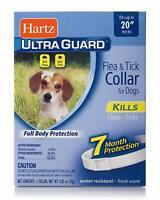 "Hartz Ultraguard Flea - Tick Dog Collar 20"", White 1 ea (Pack of 5)"