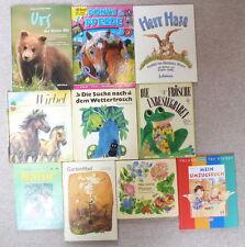 10 alte Kinderbücher: z.B. Die Suche nach dem Wetterfrosch...e1159