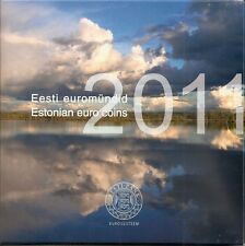 Estland KMS 2011, 1. offizieller KMS im Folder/BU