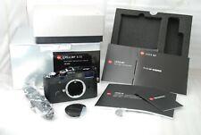 """RARE NEAR MINT -CLA'd ""Leica MP 0.72 BLACK PAINT 35mm Rangefinder Camera #3933"