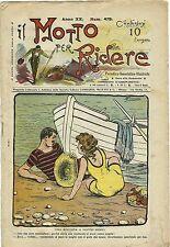 SATIRA-UMORISMO_Il Motto per Ridere_Anno XX - N.470, 1915/20* ill. F. SCARPELLI