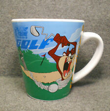 2000 Play X-Treme Taz Mug - Grandpa Golf & Fishing - Tasmanian Devil Warner Bros