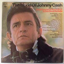 The World of Johnny Cash Deluxe 2-Record Set, Columbia GP 29 Vinyl LP