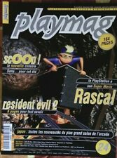 PLAYMAG 24 - RESIDENT EVIL 2_RASCAL_RIVEN_NEED FOR SPEED PS DREAMCAST N64 SATURN