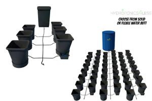 Auto Pot AutoPot Solid Flexible Water Butt Kits Systems Hydroponics 15L Pots