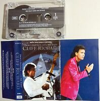 CLIFF RICHARD - FROM A DISTANCE - THE EVENT ~ 1990 EMI Indonesia CASSETTE TAPE