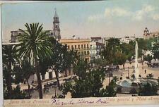 Tarjeta Postal.  Jerez de la Frontera. (Cádiz). Vista general y Plaza Arenal.
