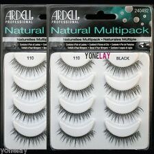 8 Pairs ARDELL #110 Natural Multipack False Eyelashes Fake Eye Lashes