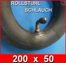 Rollstuhl Ersatz Schlauch 200x50 oder 8x2 Winkelventil in Erstausrüster-Qualität