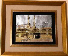 Islamic Muslim frame Al Kaaba / Gift / Home decorative