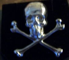 Medieval Masonic Knights Templar Memento Mori Crusades Holy Land Skull Death Pin