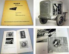 Mark DK1 Dieselkompressor Bedienungsanleitung