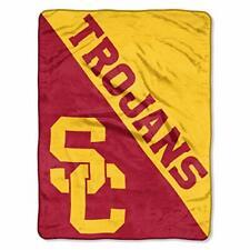 "USC Trojans 46"" x 60"" Plush Throw Blanket - football - Southern California *NEW*"