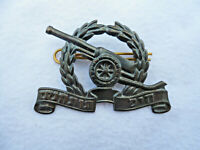 Israeli Defense Force (IDF) Artillery Cap Badge,
