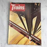 Vintage Trains Magazines April 1974 Issue Railroading Railway Railroad Photos