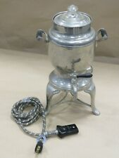 046- Vintage Great Northern Coffee Urn/Coffee Pot With Pyrex Lid With Cord