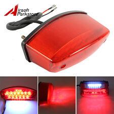 Motorcycle 21 LED License Brake Tail Light Turn Signal For Bobber Cafe Racer ATV